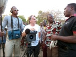 Documentary production in Mwanza